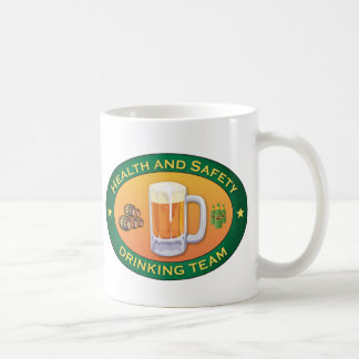 Health and Safety Drinking Team Coffee Mugs