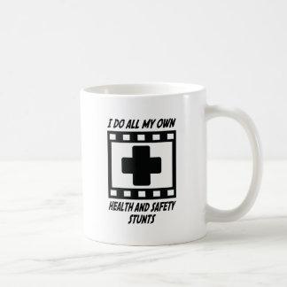 Health and Safety Stunts Coffee Mug