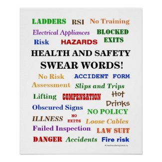 Health and Safety Swear Words - Annoying But Funny