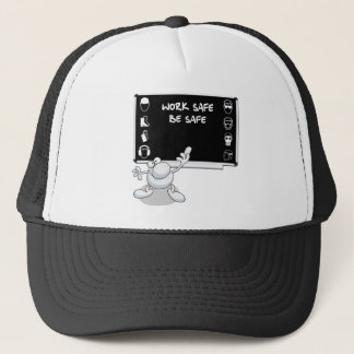 Health and safety trucker hat