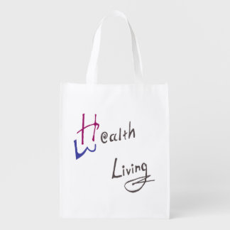 Health and Wealth Living Reusable Bag