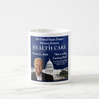Health Care Biden Quote Mug