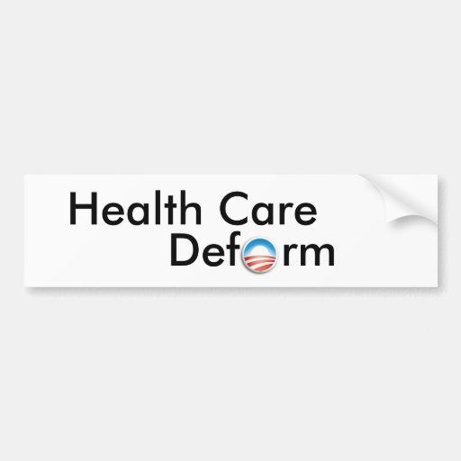 Health Care Bumper Stickers
