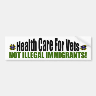 Health Care For Vets Bumper Sticker
