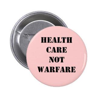 Health Care Not Warfare Button