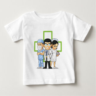 Health Care or Medical Staff - Doctor & Nurse Baby T-Shirt