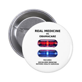 Health Care Rationing 6 Cm Round Badge