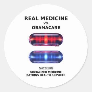 Health Care Rationing Round Sticker