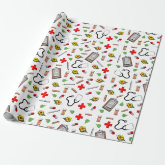 Health Care Wrapping Paper