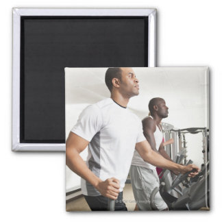 Health Club 3 Square Magnet