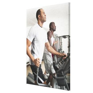 Health Club Stretched Canvas Prints