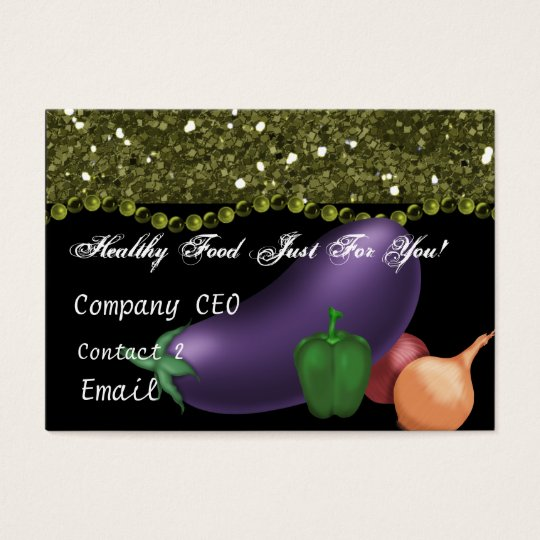 Health Coach Business Card