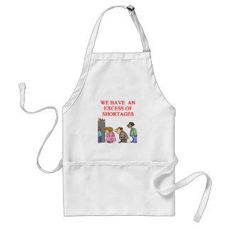 health cre shortage standard apron