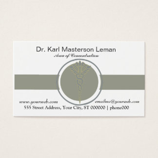 Health Doctors Office Appointment Healthcare Business Card