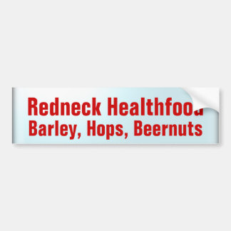 Health Food Bumper Sticker