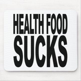 Health Food Sucks Mouse Pad