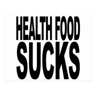 Health Food Sucks Postcard