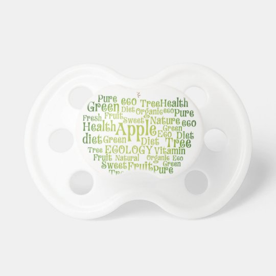 Health Green Eco Friendly Baby Pacifier