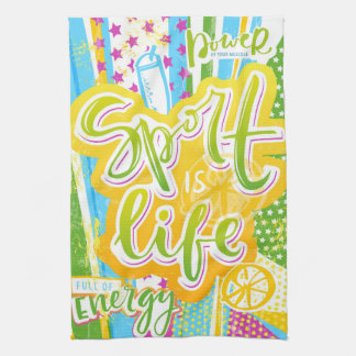 Health, Gym, Fitness is love Kitchen Towel