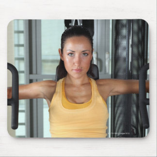 Health, gym work and fitness mouse pad
