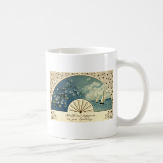 Health & Happiness Birthday Repro Vintage 1912 Basic White Mug