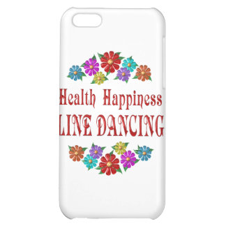 Health Happiness Line Dancing Case For iPhone 5C