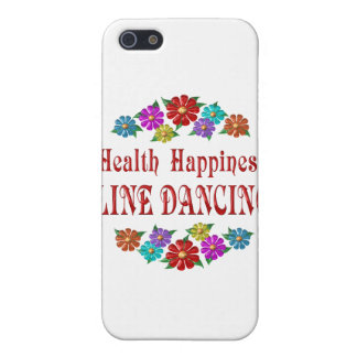 Health Happiness Line Dancing Cover For iPhone 5