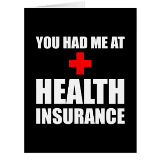 Health Insurance Big Greeting Card