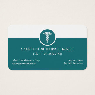 Health Insurance Business Cards