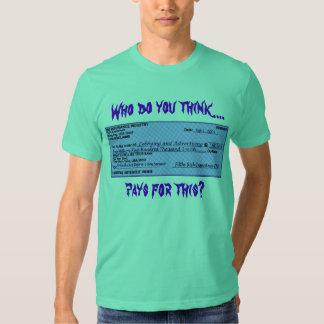 Health Insurance Check T-shirt