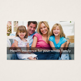 Health Insurance Multi Line Rep Business Card