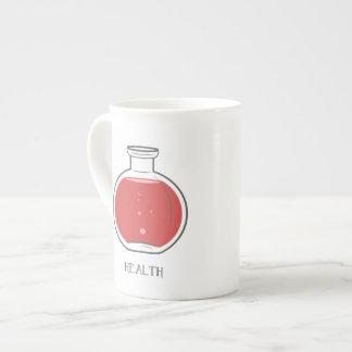Health Potion: +75 Bone China Mug