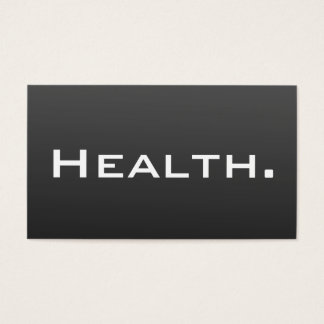 Health Professional Business Card- Modern Business Card