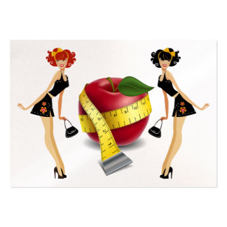 Health / Spa / Gym / Weight Management Pack Of Chubby Business Cards