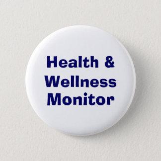 Health & Wellness , Monitor 6 Cm Round Badge
