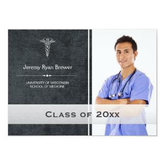 HealthCare Medical Graduation Photo Announcement