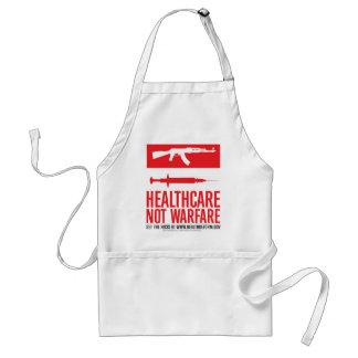 Healthcare NOT Warfare Adult Apron