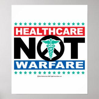 Healthcare NOT Warfare Print