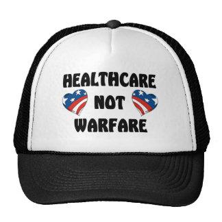 HealthCare Not Warfare Trucker Hats