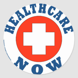 Healthcare Now! Stickers