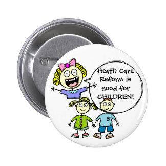 HEALTHCARE REFORM PINS
