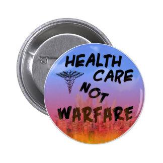 healthcarebutton 6 cm round badge