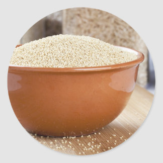 Healthy Amaranth Round Sticker