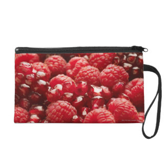 Healthy and nutritious red berries wristlet clutch