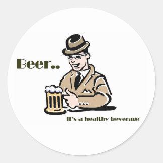 Healthy Beverage Sticker