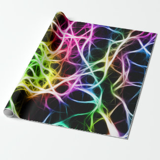 Healthy Colorful Neuron Wrapping Paper
