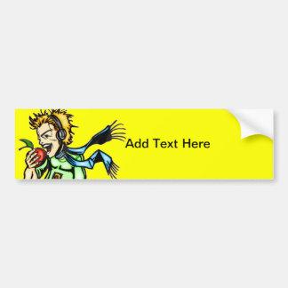 Healthy Diet Bumper Sticker