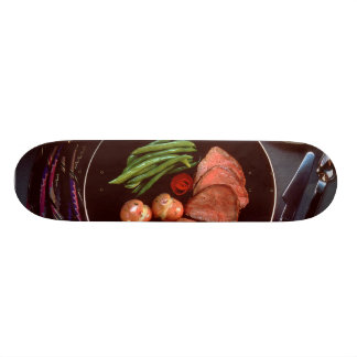 Healthy Dinner Skate Board Decks