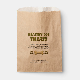 Healthy Dog Treats-CUSTOM FAVOR BAGS Favour Bags