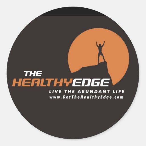 Healthy Edge Sticker (Black)